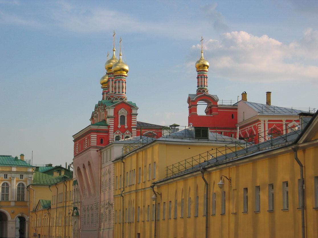 Kremlin'in içinden bir görünüm