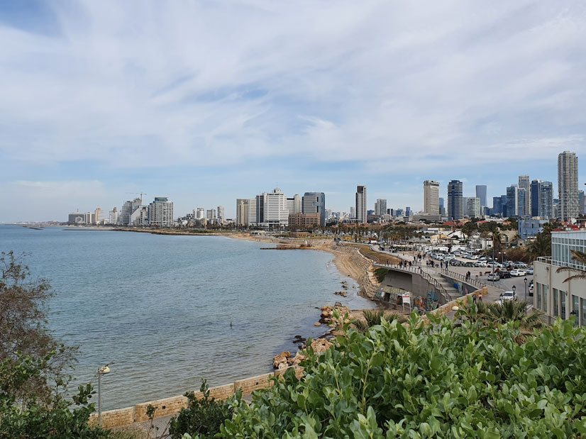 Akdeniz'e nazır Yafa şehri
