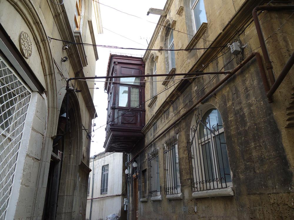 İçeri Şeher'den bir sokak manzarası
