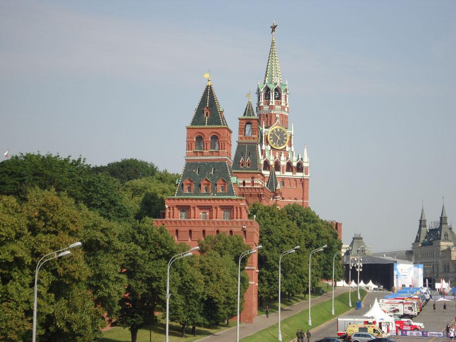 Kremlin Sarayı'nın kuleleri