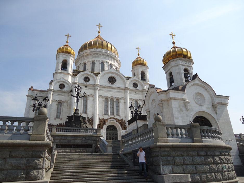 Moskova'da Kurtarıcı İsa Katedrali