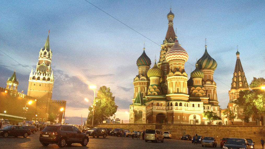 Kızıl Meydan'daki Aziz Basil Katedrali