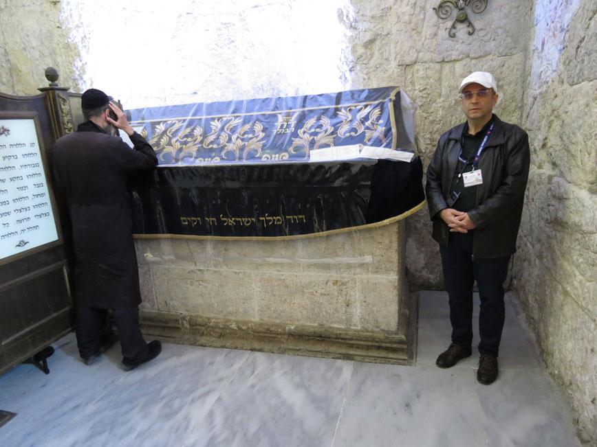 Kudüs'te Hz. Davud'un kabri başında bir Yahudi ve bir Müslüman...