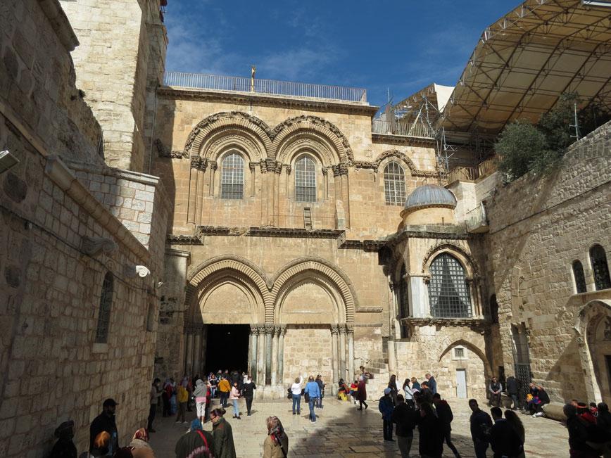 Hıristiyanların hac mekânı Kıyame Kilisesi
