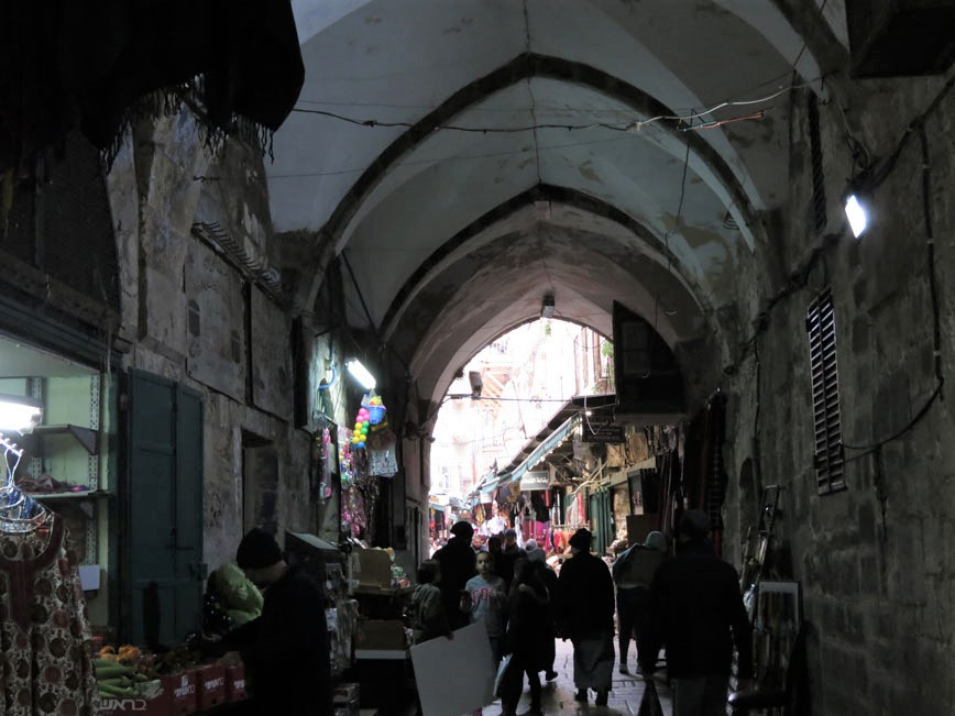 Kadim Kudüs'ün çarşıları...