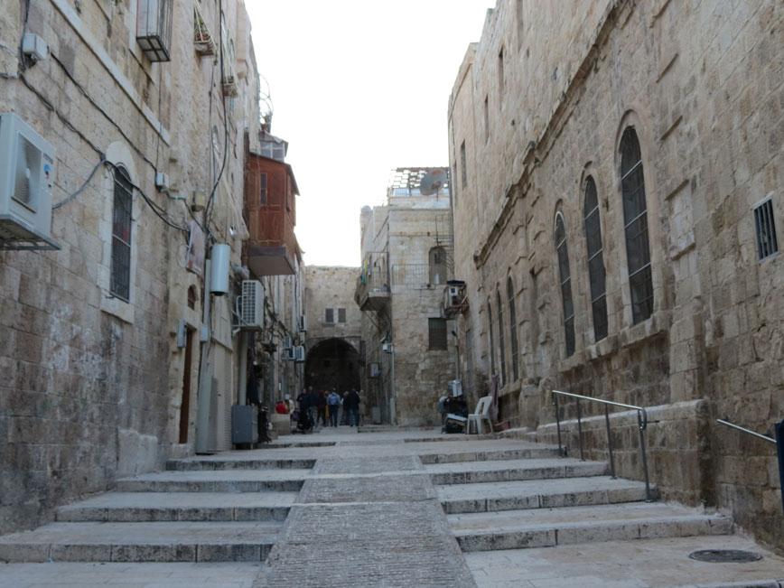 Kudüs'ten bir Kadim Şehir manzarası