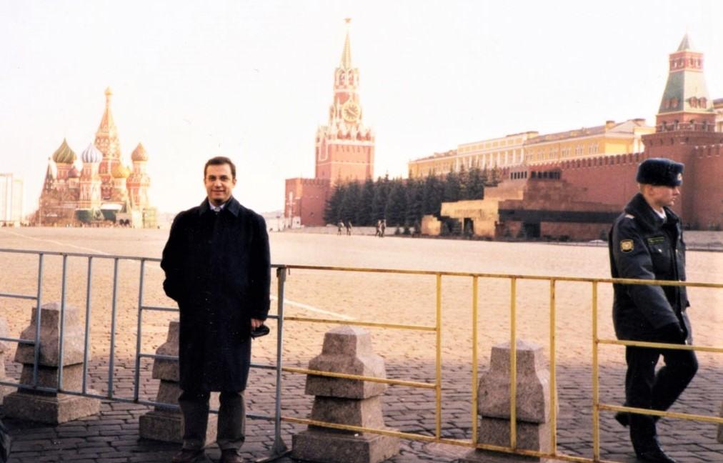 Kışın ayazında Kızıl Meydan. Analog fotoğraf günleri...