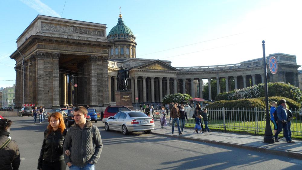 St. Petersburg'un Kazan Katedrali
