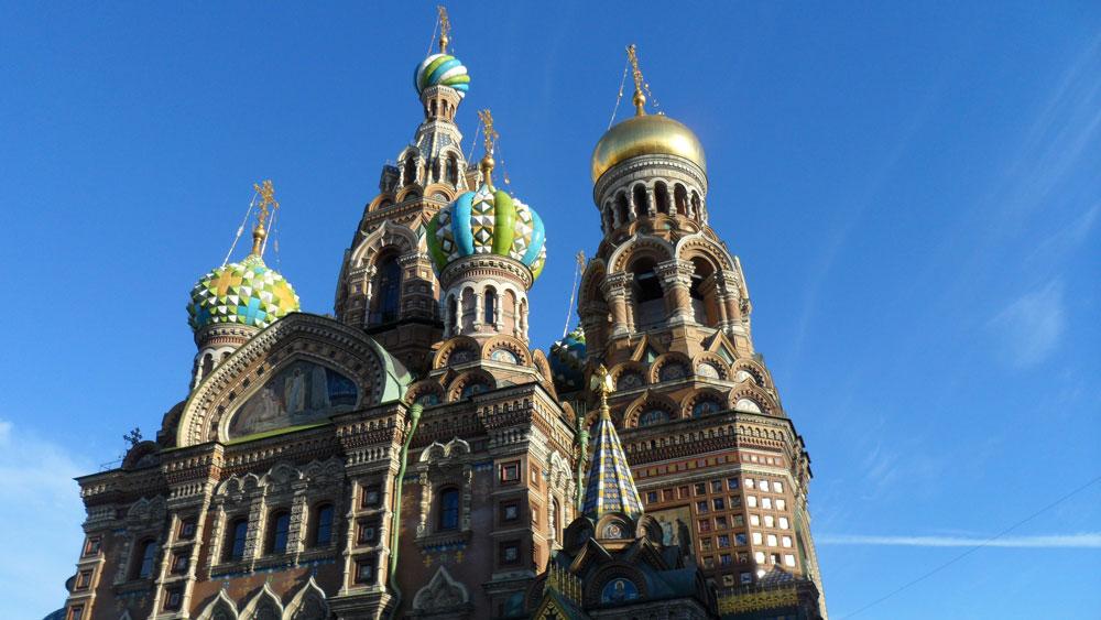 St. Petersburg'da Dökülen Kan Kilisesi