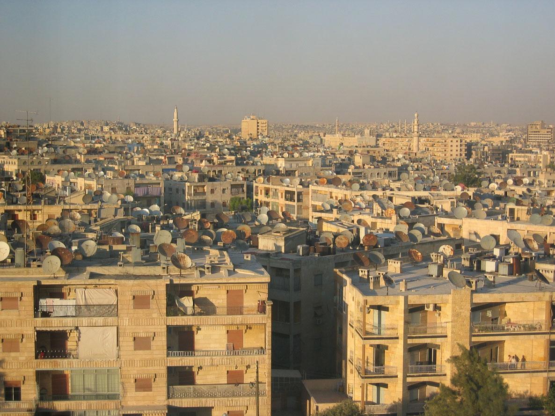 Halep taşının güzelliğinin katili çanak antenler...