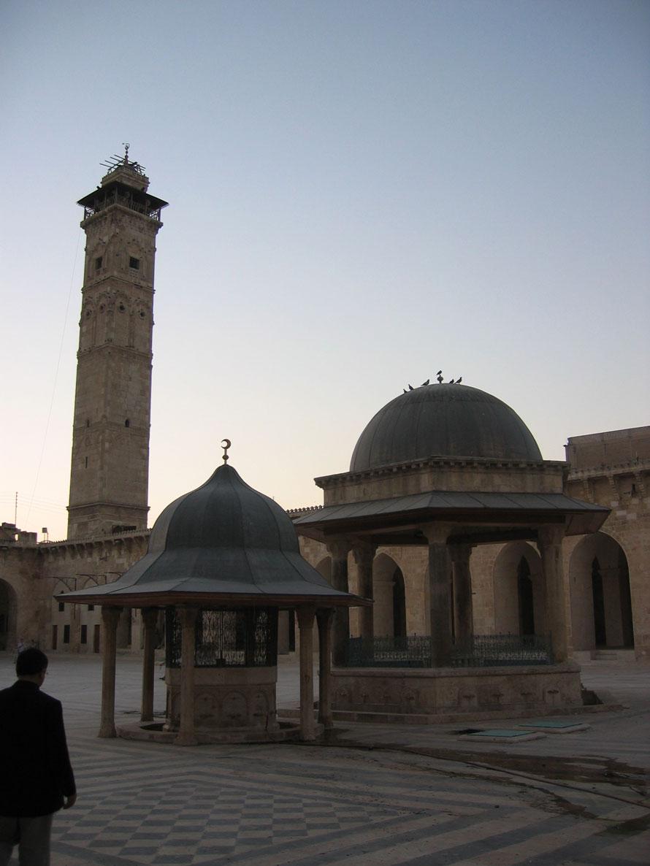 Halep'in sembol mekânı Emevî Camii