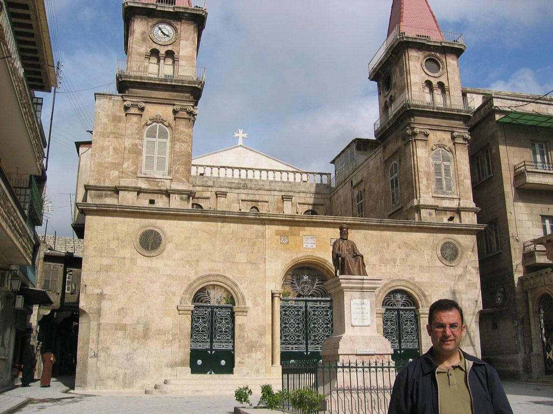 Bir Maruni mabedi olan Aziz İlyas Katedrali