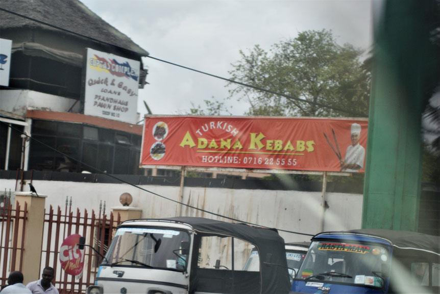 Mombasa'da canınız Adana kebap çekerse...