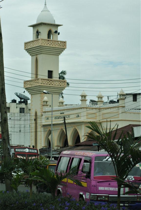 Mombasa'da bir cami