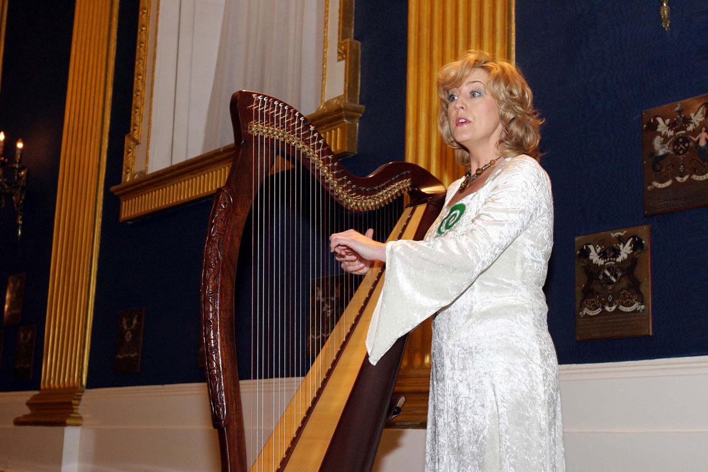 Dublin Kalesi'nde dinlediğimiz Arp resitali