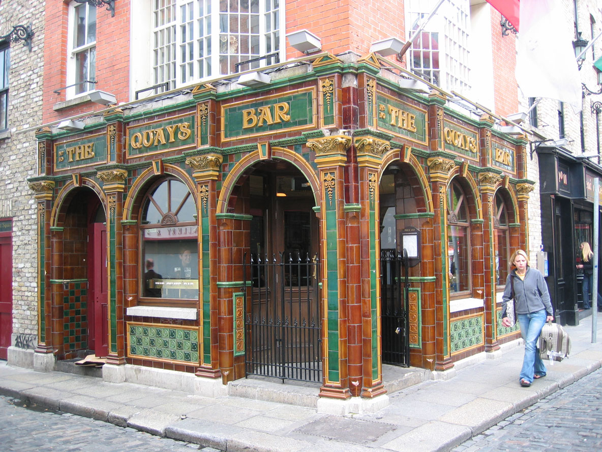 Dublin'in meşhur pub'larından biri
