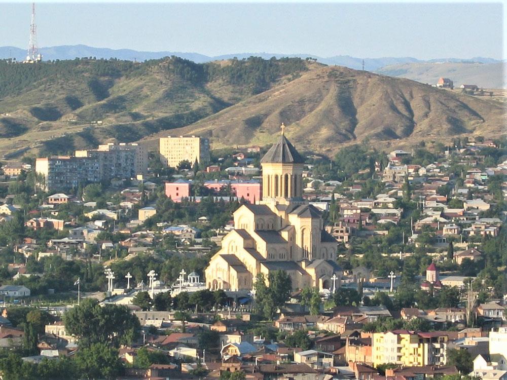 Sameba Katedrali ve çevresi