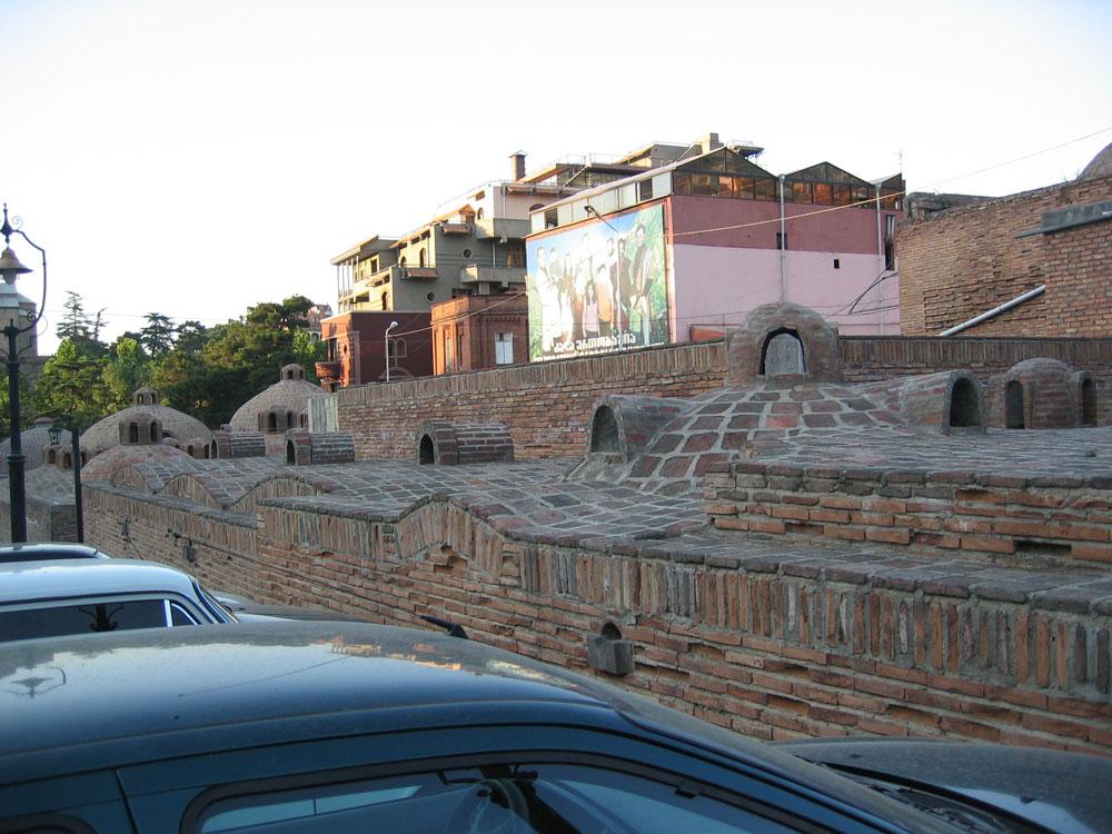 Tiflis'in kükürt hamamları