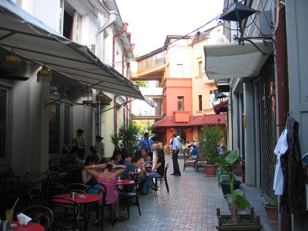 Eski Tiflis'in canlı bir noktası