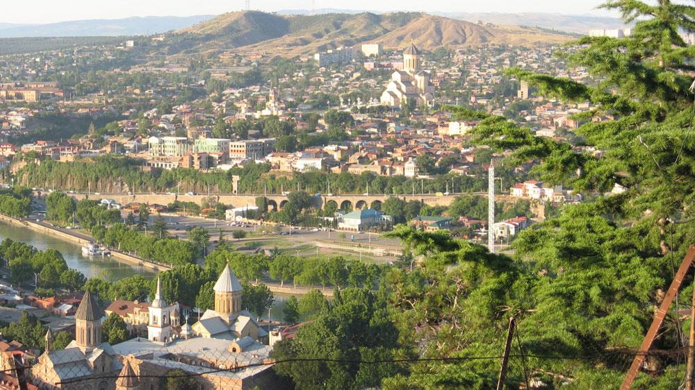 Tiflis panoraması