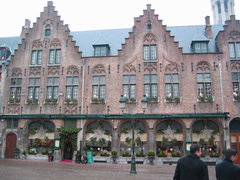 Brugge'den bir görünüm