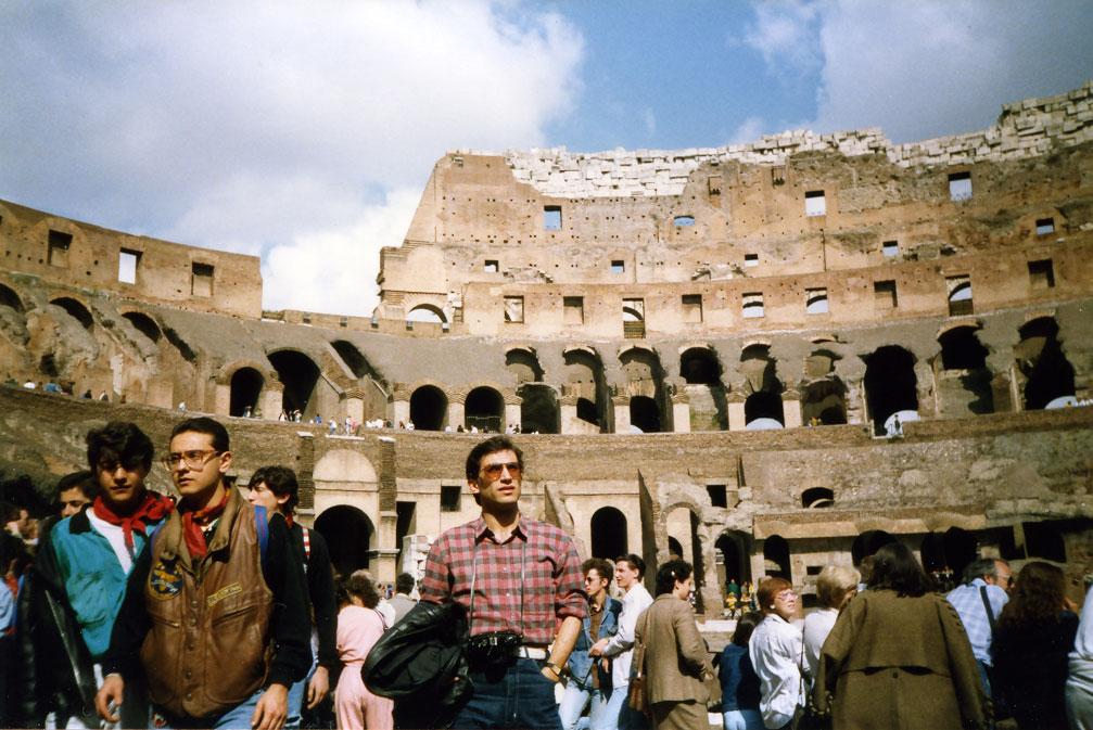 Gladyatör dövüşlerinin yapıldığı arena: Kolezyum