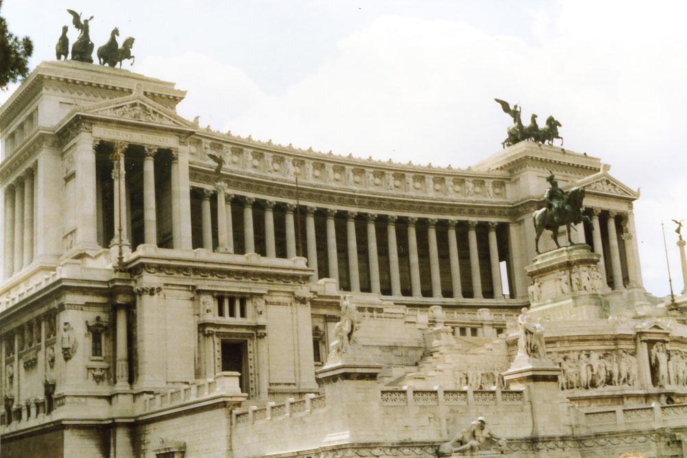 """II. Vittorio Emanuele Anıtı, nam-ı diğer """"Ulusun Mihrabı"""""""