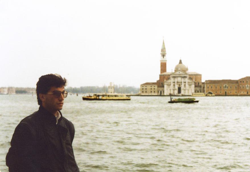 Bir Venedik manzarası