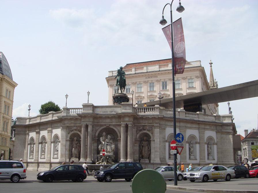 Müzeler Bölgesi'nde Albertina Müzesi