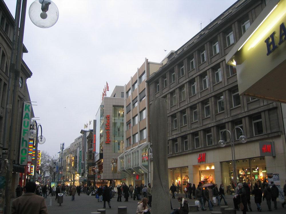 Hannover şehir merkezi