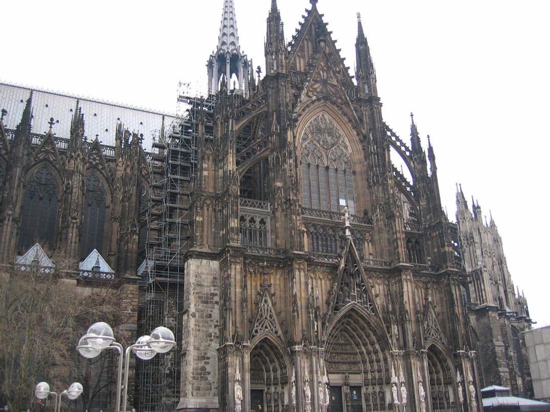 Köln'ün meşhur Katedrali