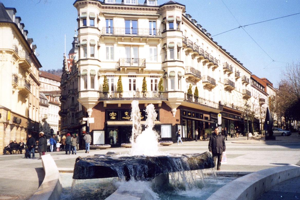 2003 yılından bir Baden Baden hatırası