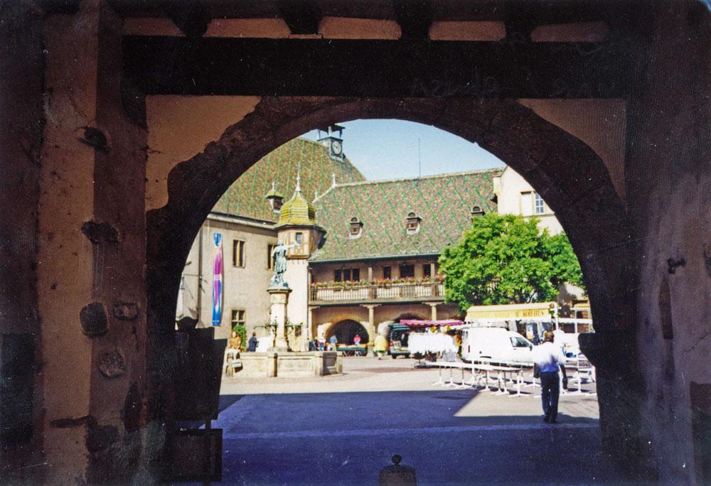 Colmar'ın tarihi binaları