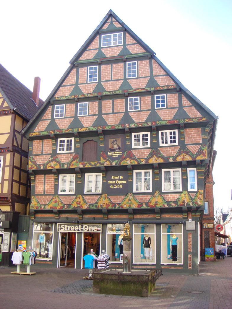 Celle'deki Hoppener Evi 1532'de inşa edilmiş!