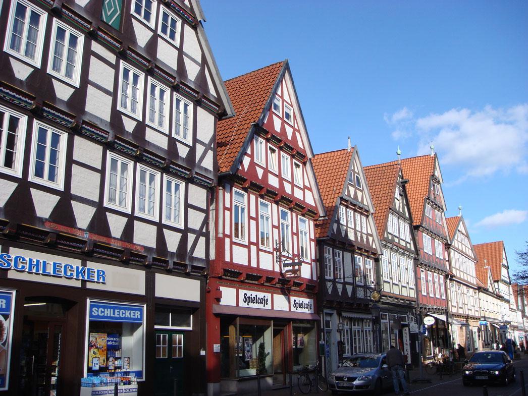 Celle'nin tarihi evleri