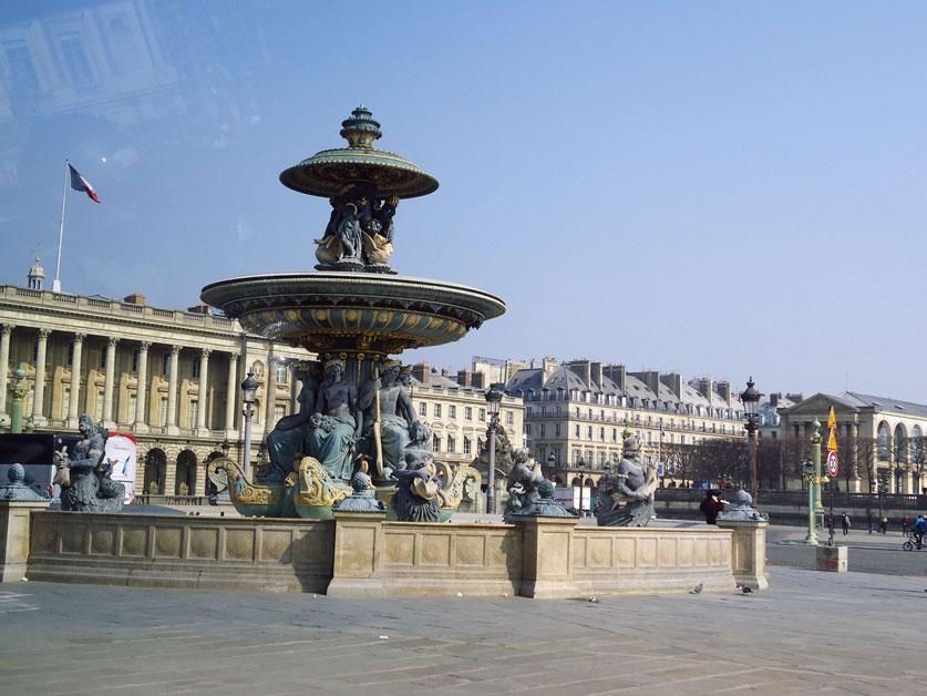 Bir Paris manzarası