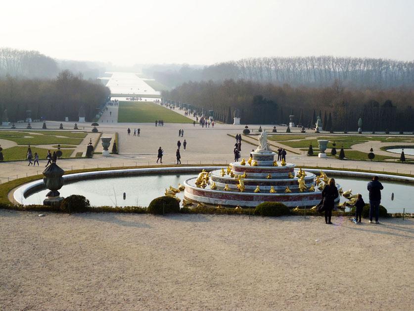 Versay Sarayı'nın bahçeleri