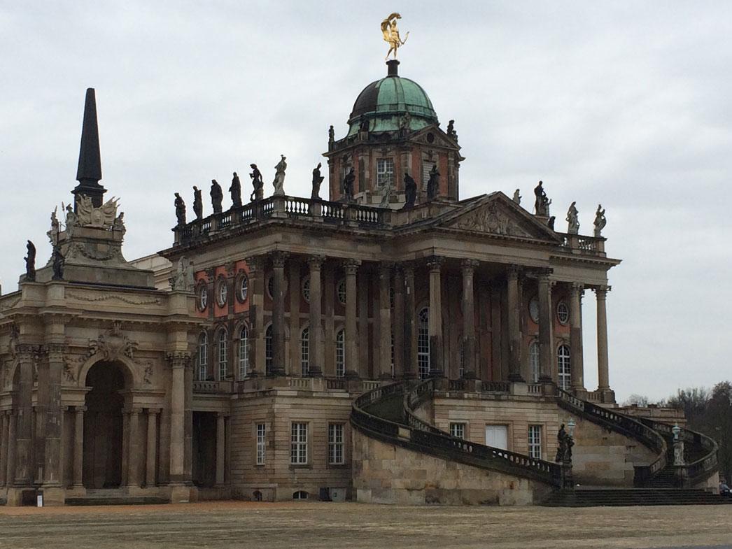 Potsdam'da üniversite binası