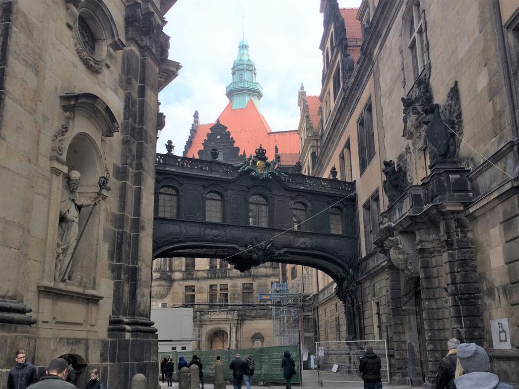 Dresden'in tarihi bölgesi