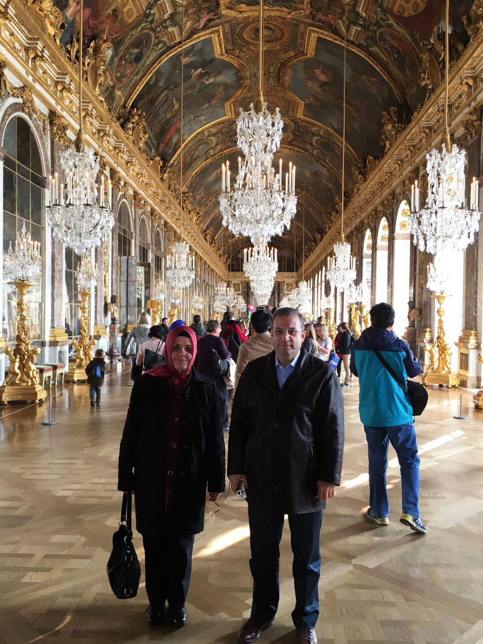 Versay Sarayı'nın ihtişamlı salonlarından biri
