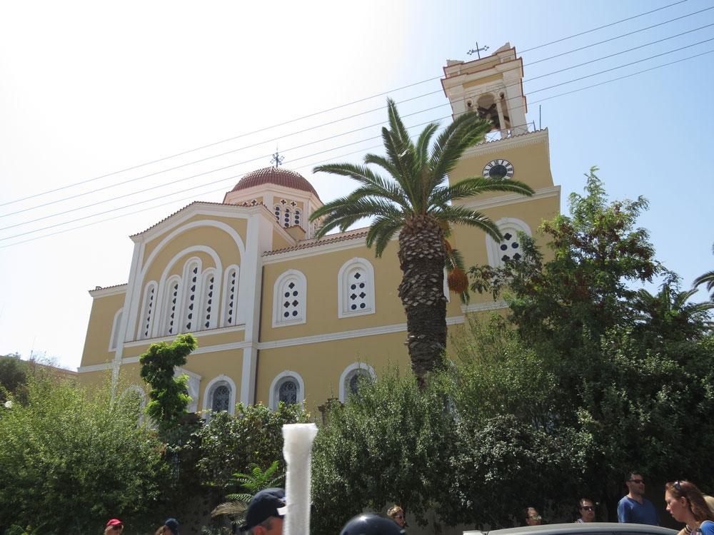 Sakız'da Metropolitan Katedrali