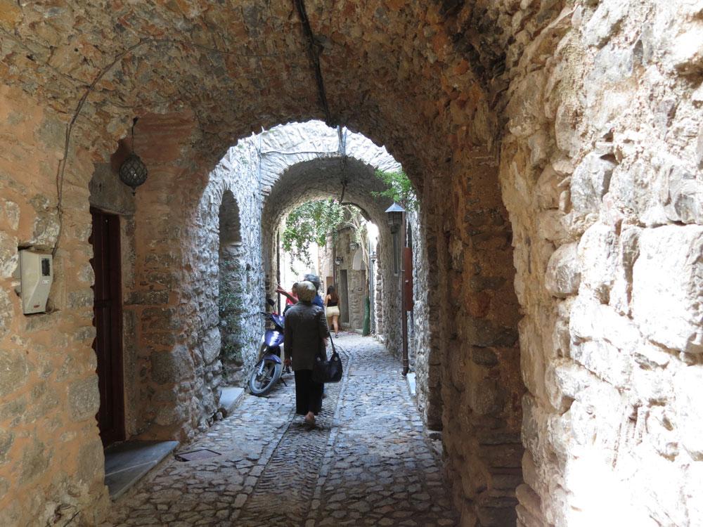 Mesta Köyü'nde Ortaçağ'dan miras yapılaşma