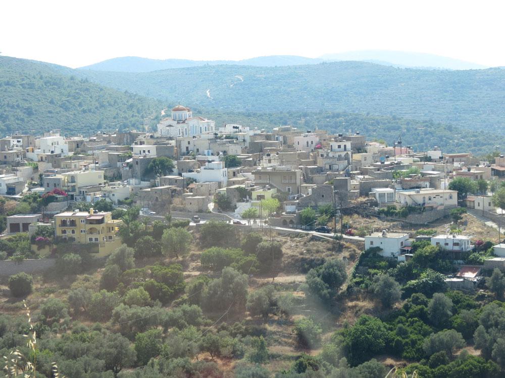Sakız'ın köylerinden biri