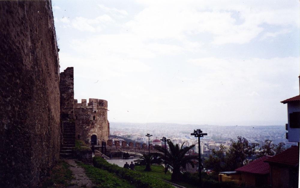 Selanik Akropolü'ndeki Yedikule