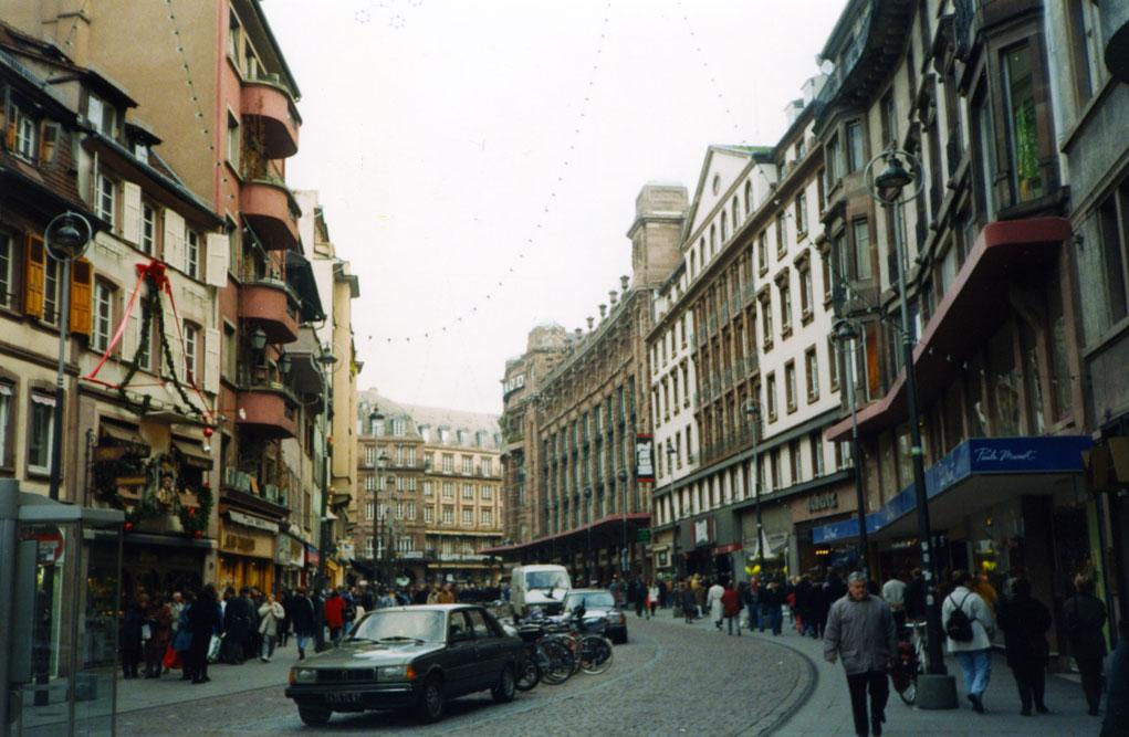 Şehir merkezinden bir görünüm