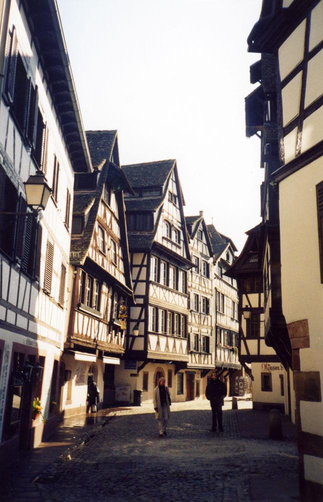 Strazburg'da Küçük Fransa bölgesi sanki bir masal diyarı...