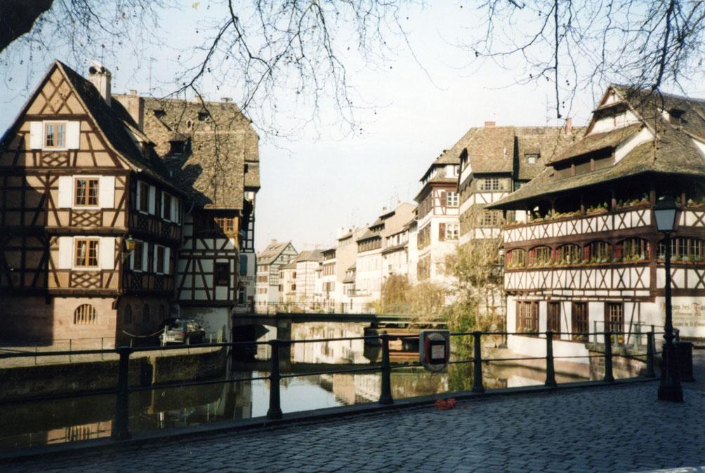 Strazburg'un Küçük Fransa bölgesi