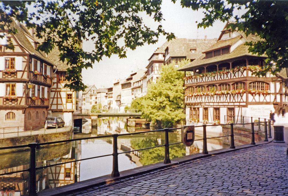 Bir Küçük Fransa manzarası
