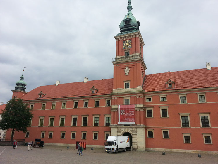 Varşova'nın ikonik yapılarından biri: Kraliyet Sarayı
