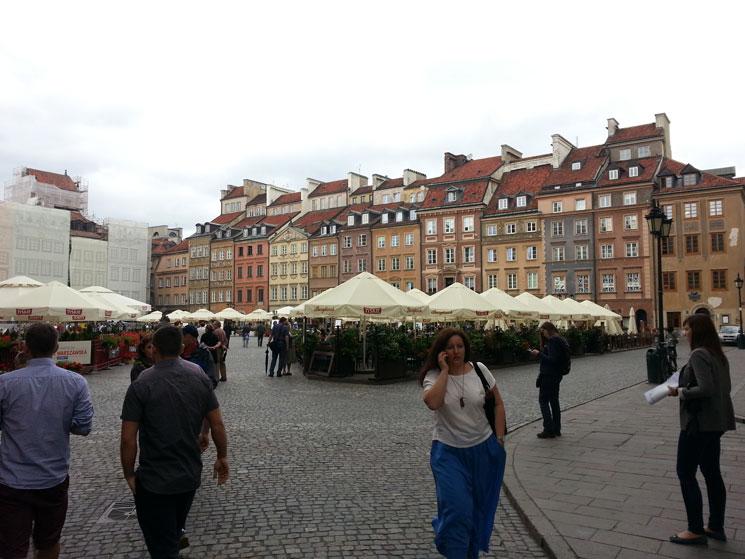 Eski Şehir Meydanı'ndan bir görünüm